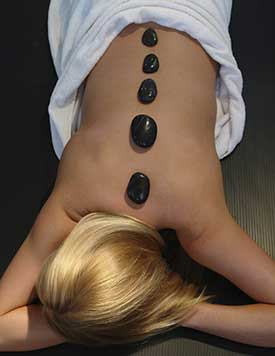 Hot Stone Massage Therapy in Roanoke, TX